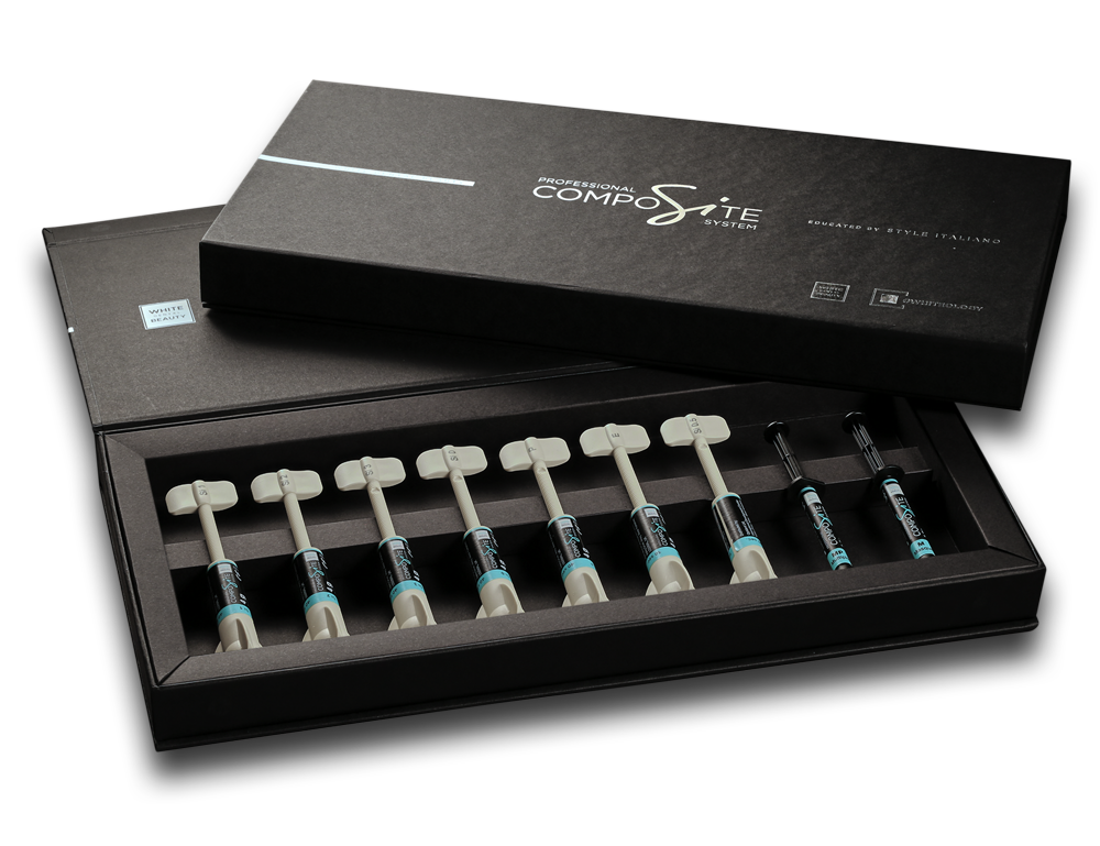 white dental beauty professional composite system wdb